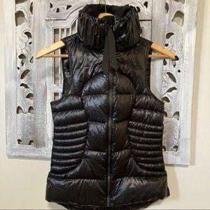 Lululemon goose down filled black puffer vest
